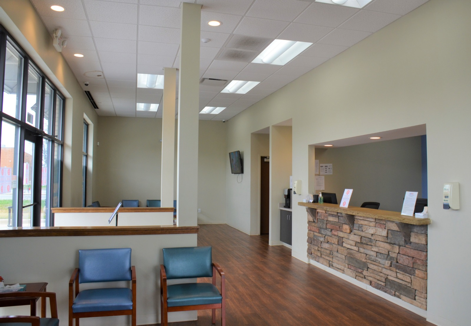 Mediq Urgent Care Greensboro Waiting Room