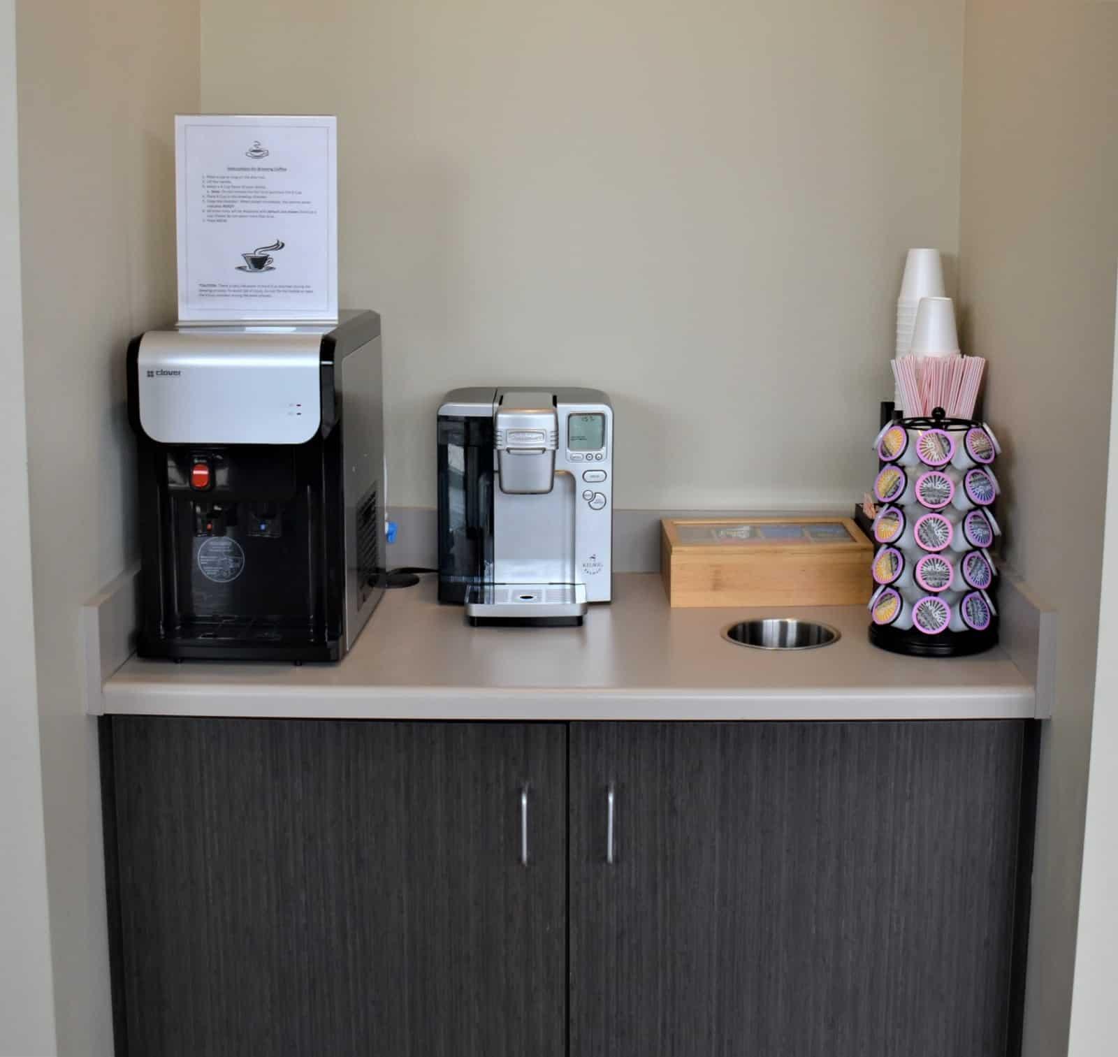 Mediq Urgent Care Greensboro Waiting Room Refreshments