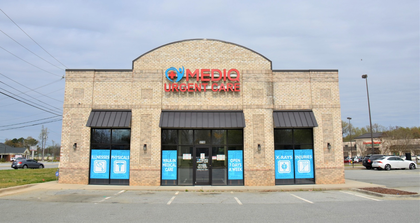 Mediq Urgent Care Greensboro exterior