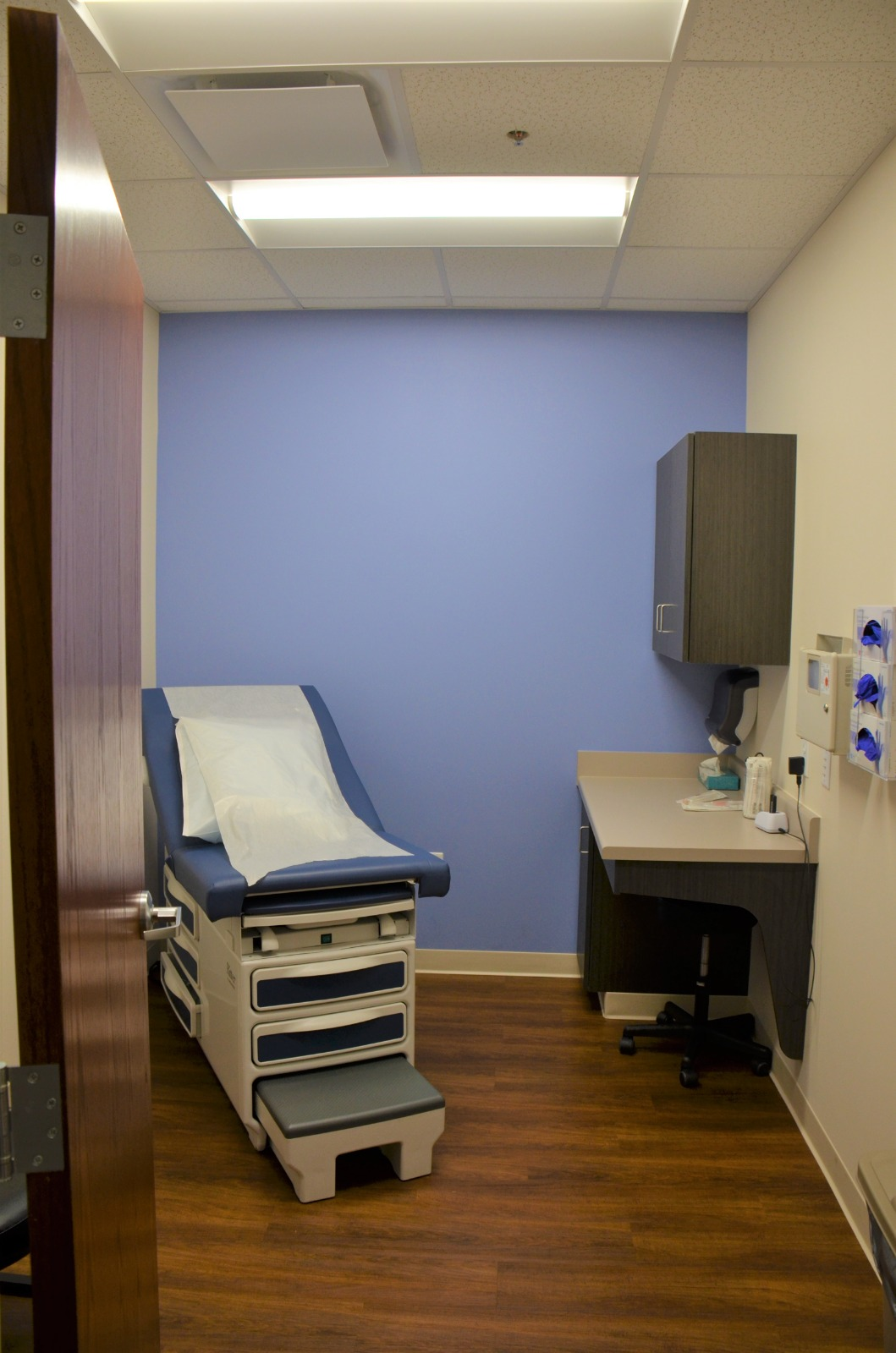MEDIQ Urgent Care Exam Room in Winston-Salem